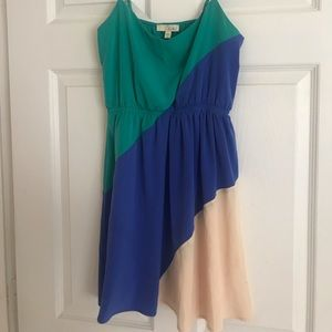 Dresses & Skirts - Color blocked Lush dress, size Small
